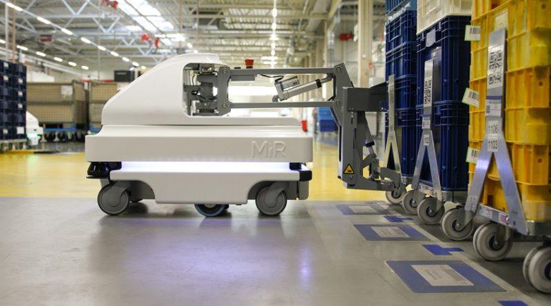 Az innovatív NIDEC GMP mobil robotokkal növeli kapacitását